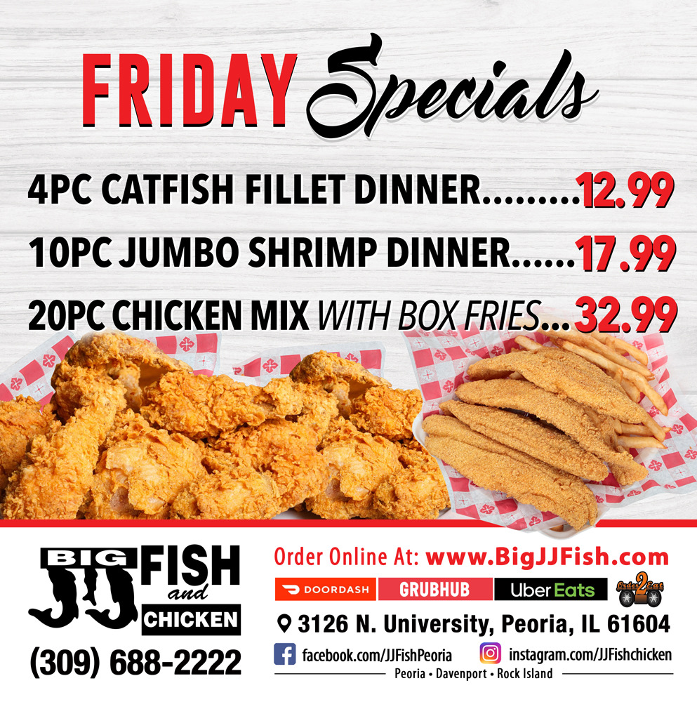 Friday Specials